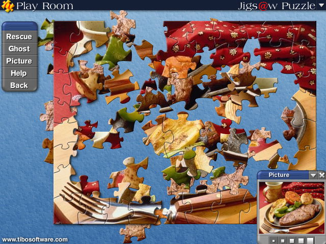 Jigs@w Puzzle, jigsaw, puzzle, game, create, creator, gift, best, 3D, gallery, internet, email, e-mail, win95, win98, winnt, win2000, quality, Tibo, software, edition, free, shareware, download, 5 star rating, multilanguage, languages, feedback