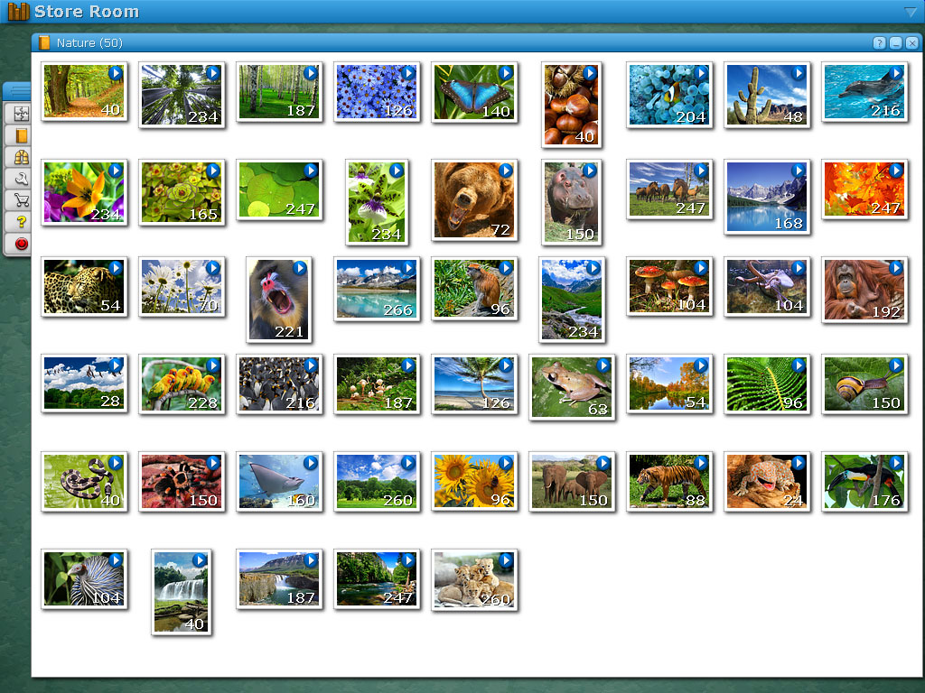 Jigs@w Puzzle Nature Screen shot