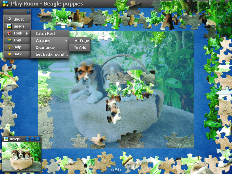 Jigs@w Puzzle Animals Screen shot