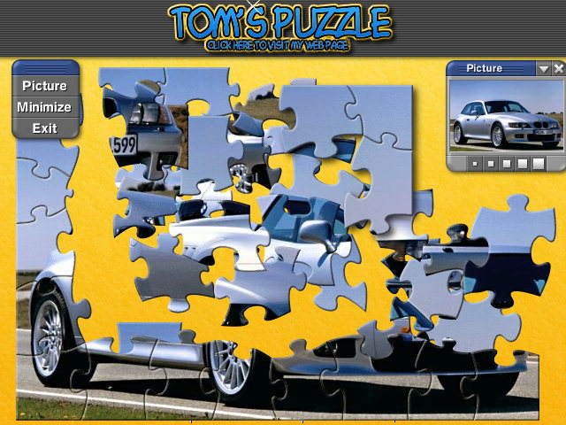 Jigs@w Puzzle Promo Creator is a wizard which will help you simply and quickly create your own custom jigsaw puzzles. These small jigsaw puzzle games can contain your logo, banner, picture, corporate colors and a link to your web site. Freeware!